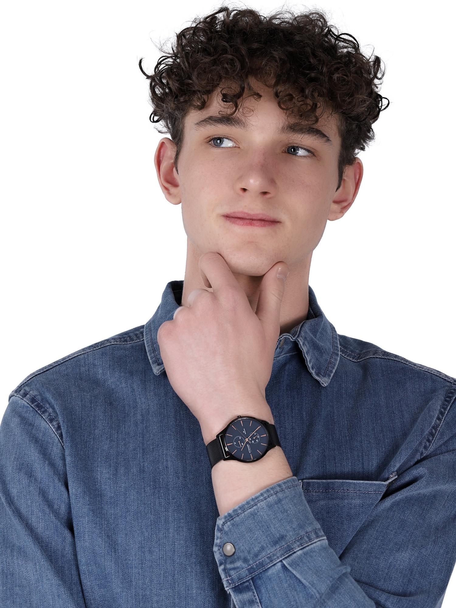 Strand S703GMBLMB zegarek klasyczny Beaufort