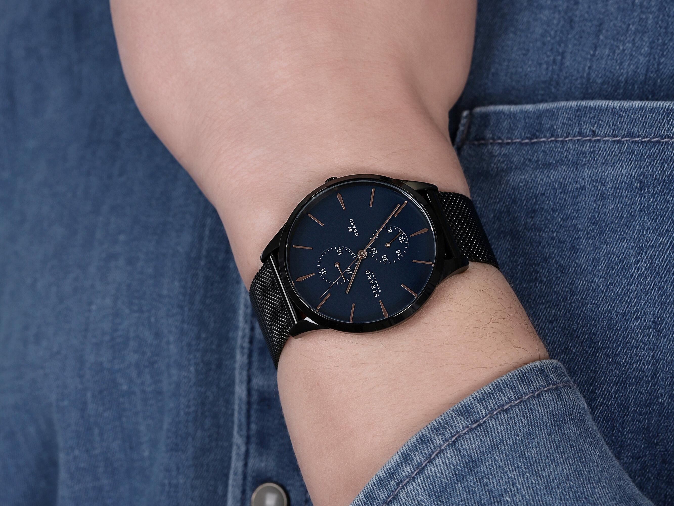 Strand S703GMBLMB zegarek męski Beaufort