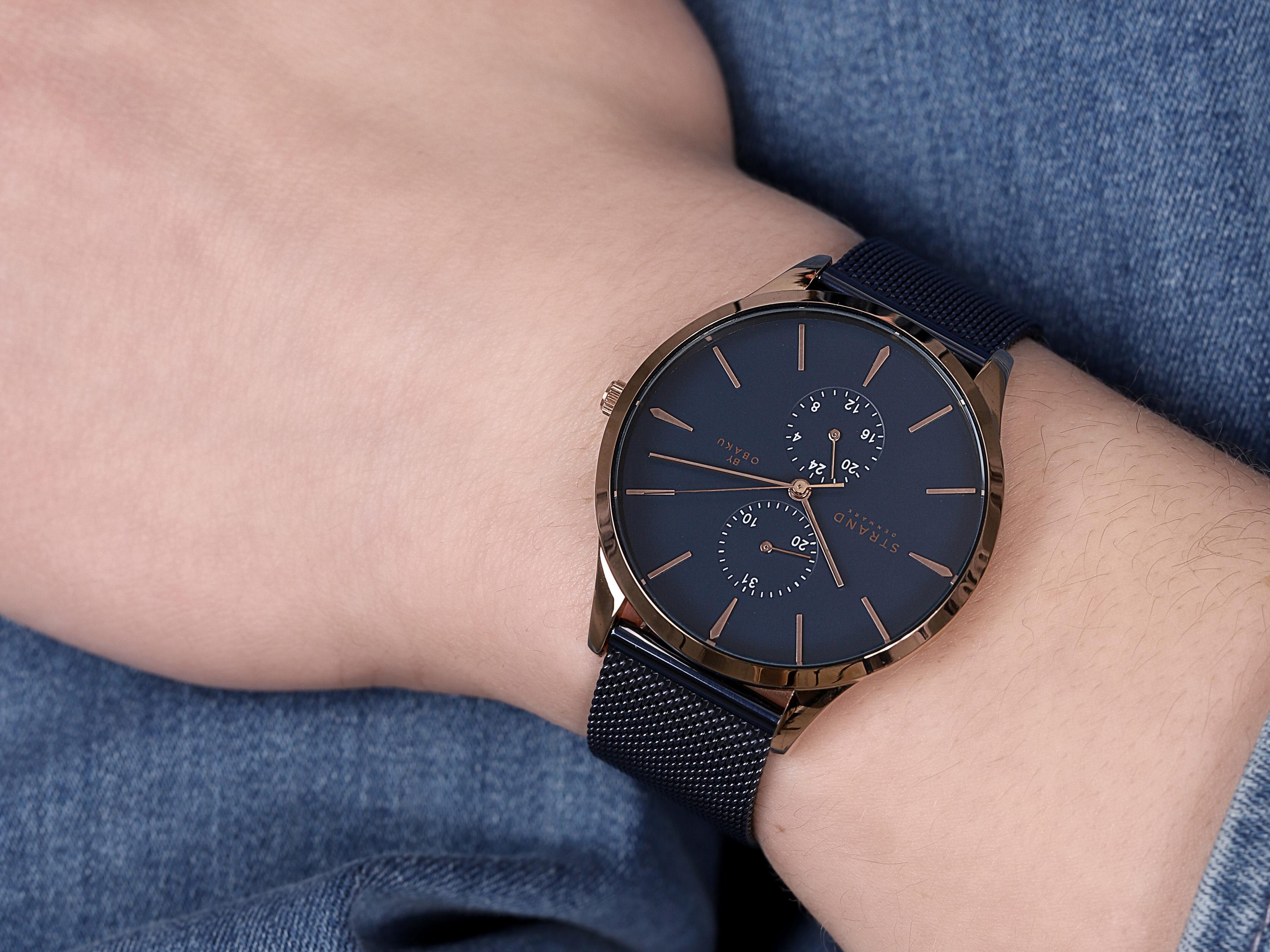 Strand S703GMVLML Beaufort zegarek męski klasyczny mineralne