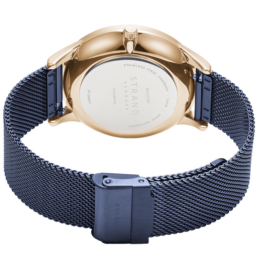 Strand S703GMVLML męski zegarek Beaufort bransoleta