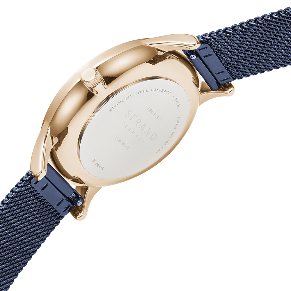 Strand S703GMVLML zegarek klasyczny Beaufort
