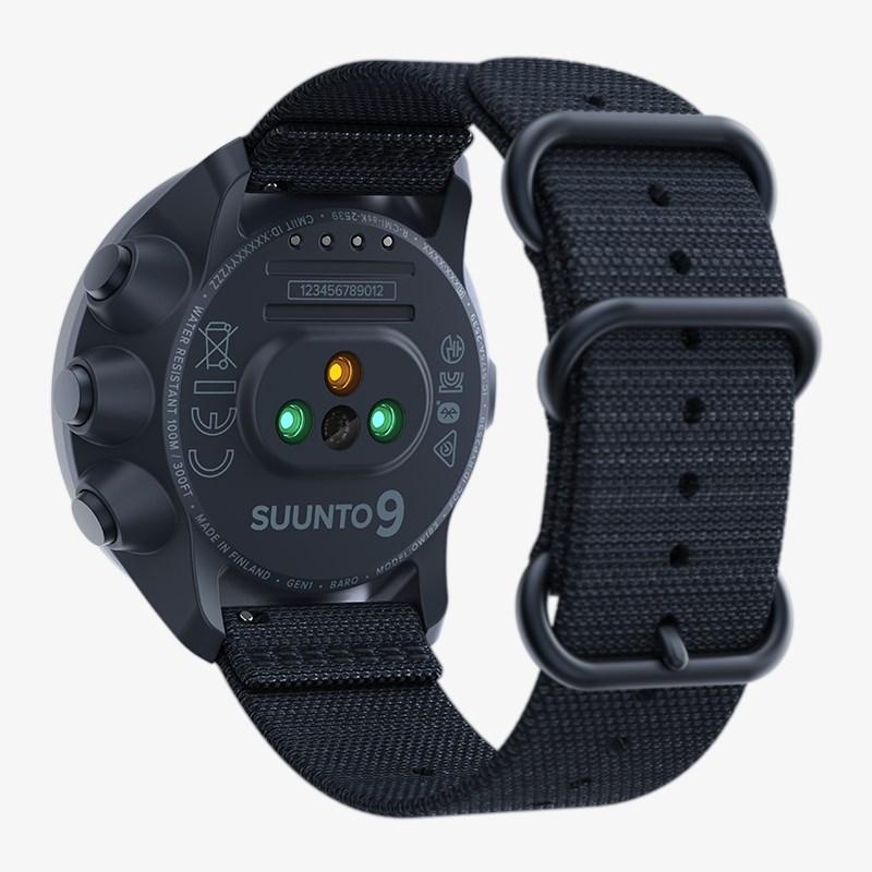 Suunto SS050565000 Suunto 9 Baro Granite Blue Titanium Suunto 9 sportowy zegarek niebieski