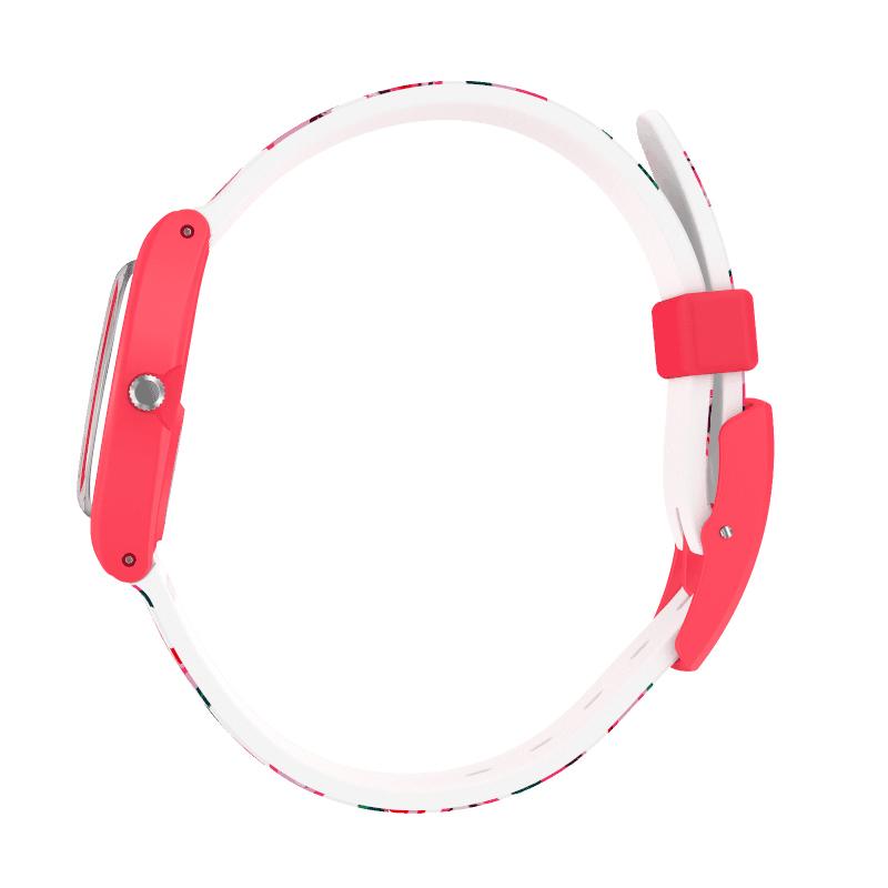 Swatch LP154 zegarek różowy fashion/modowy Originals pasek