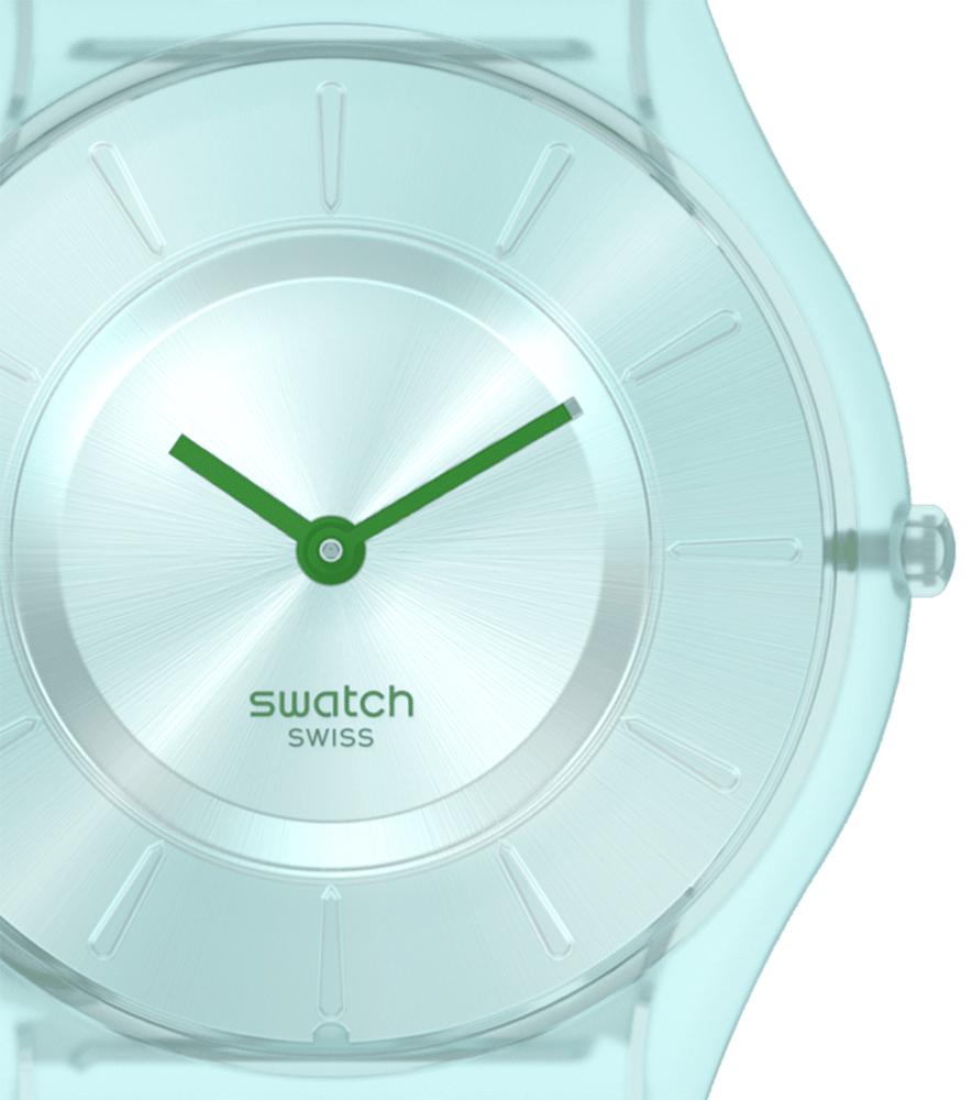 Swatch SS08G100 zegarek czerwony klasyczny Skin Classic pasek