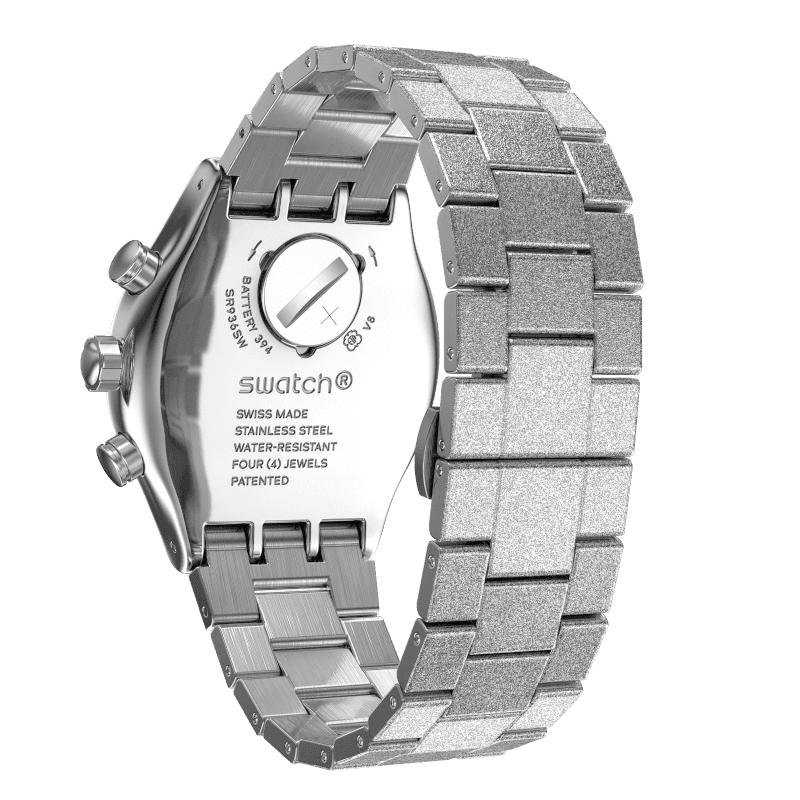 Swatch YVS472G SILVER EXPLOSION zegarek fashion/modowy Irony