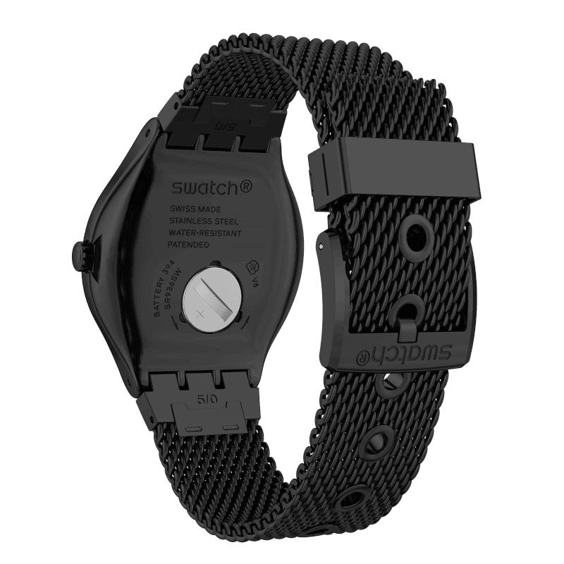 Swatch YWB405MB męski zegarek Irony pasek