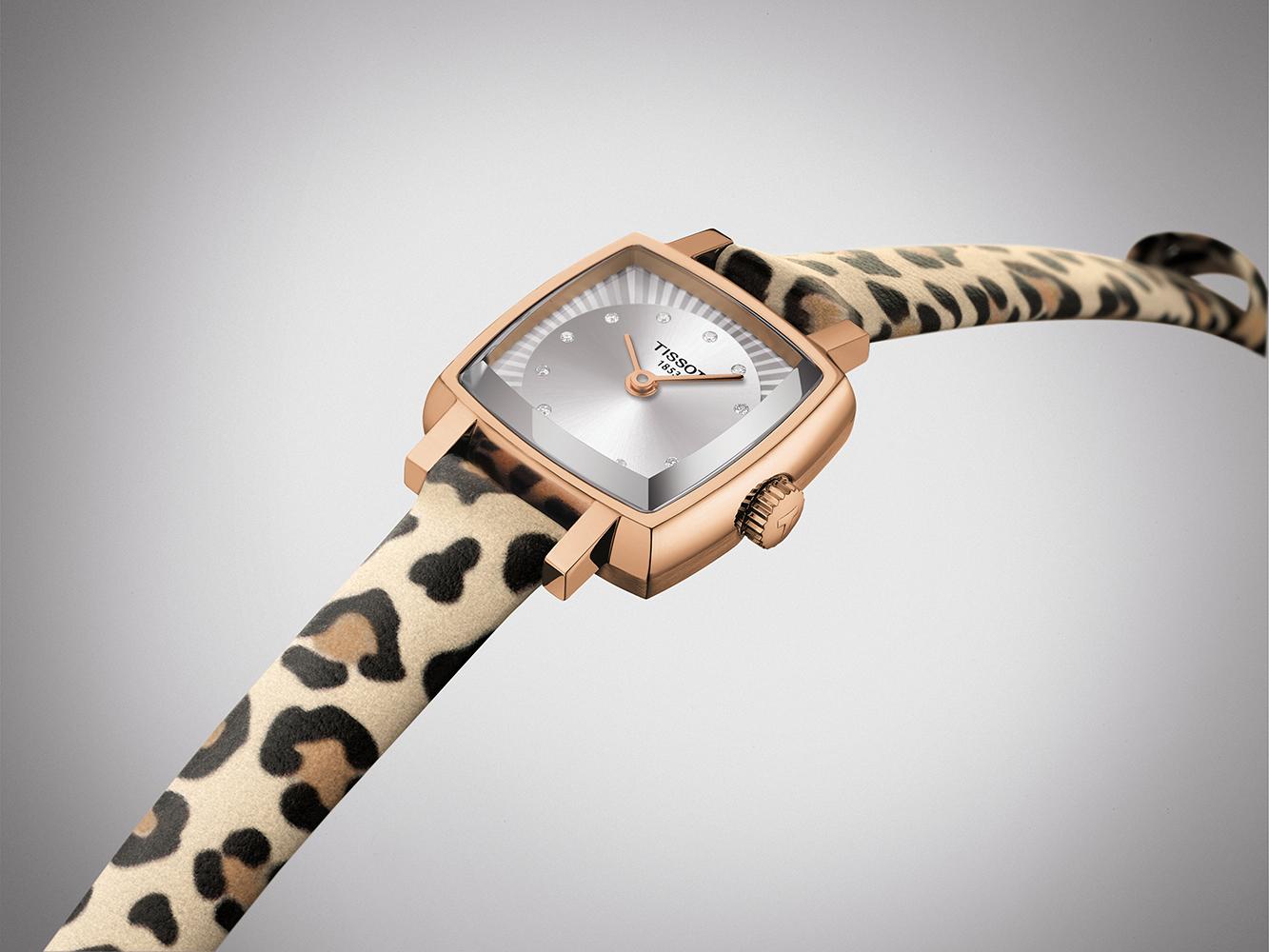 T058.109.37.036.00 zegarek srebrny elegancki Lovely pasek