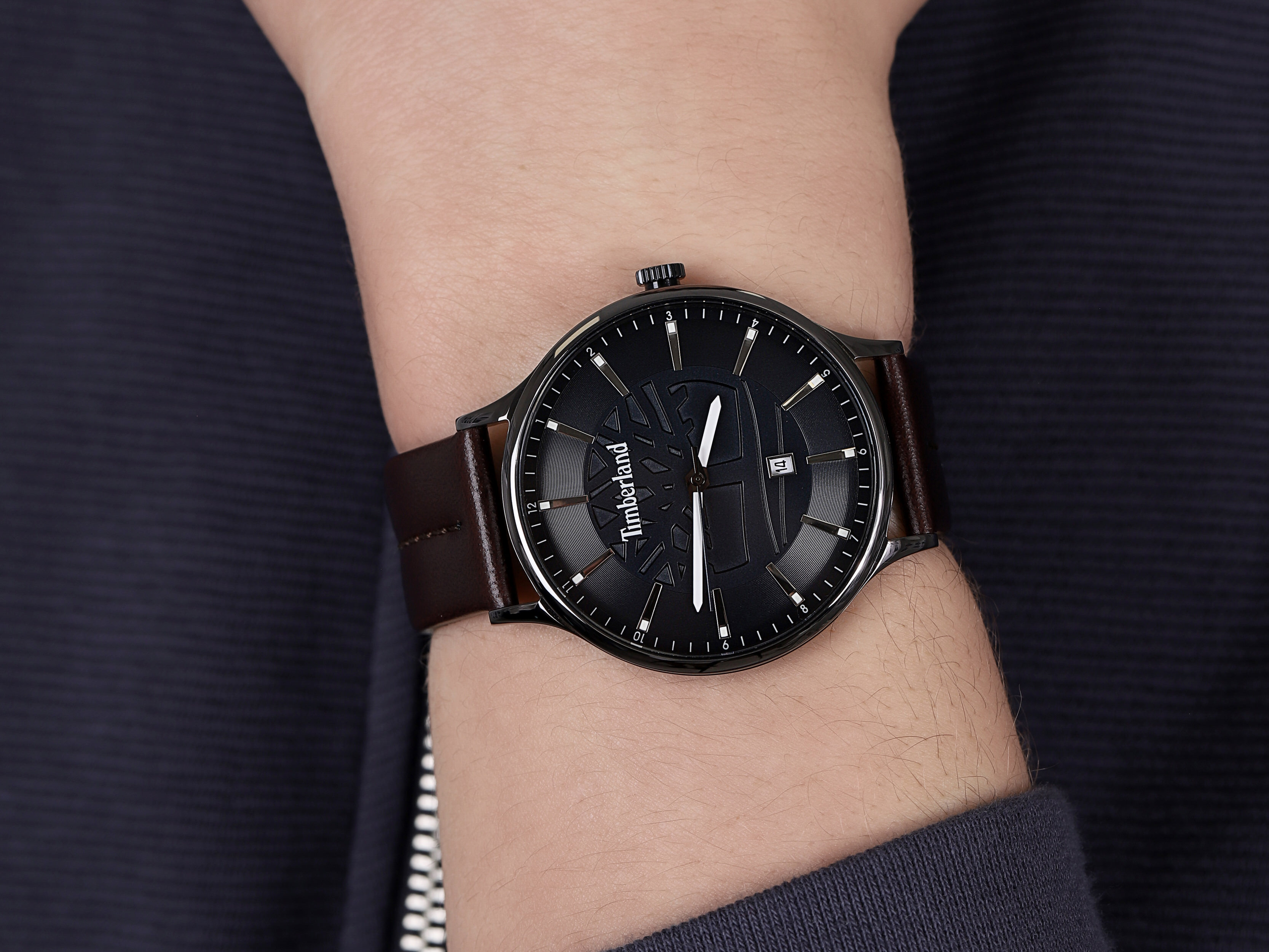 Timberland TBL.15488JSU-03 męski zegarek Marblehead pasek