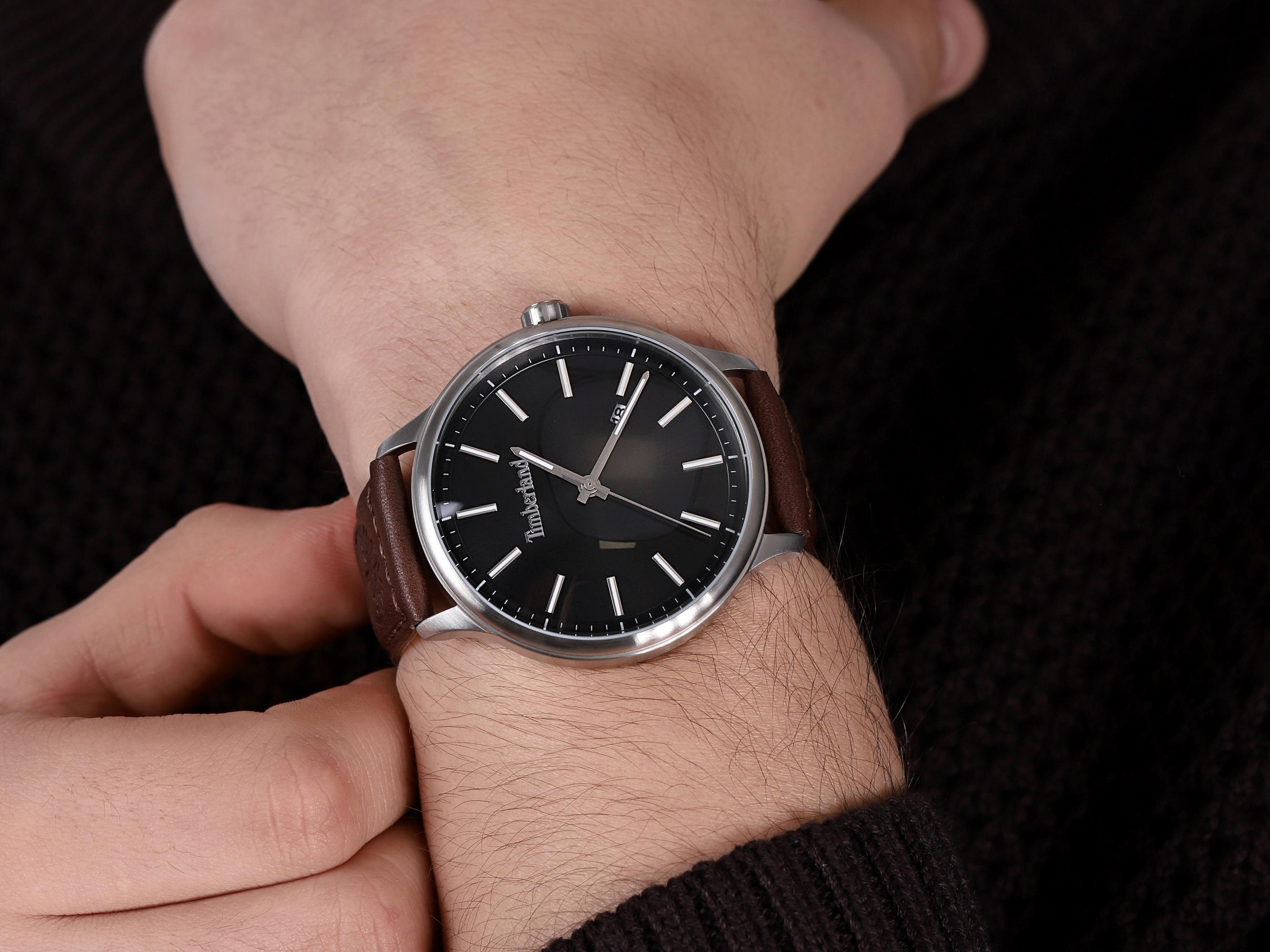 Timberland TBL.15638JS-02 męski zegarek Allendale pasek