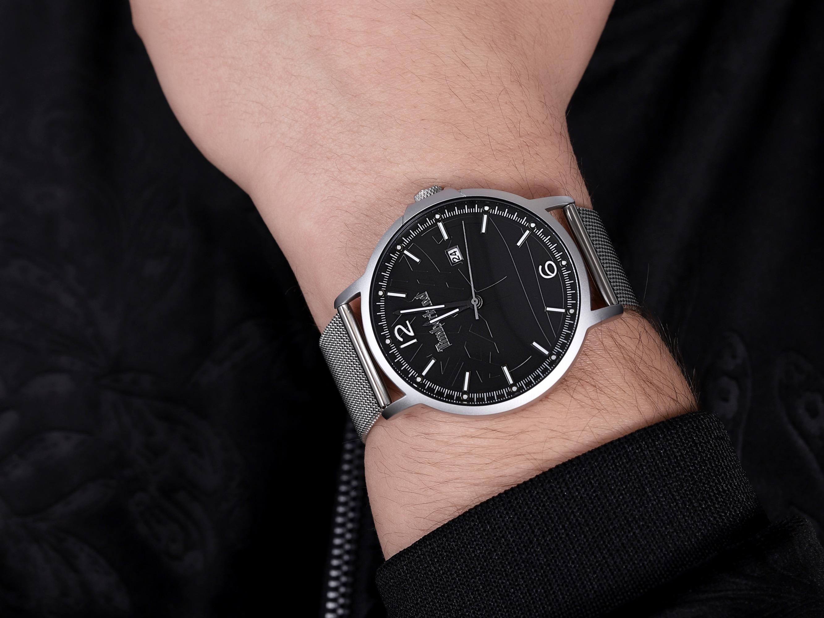 Timberland TBL.15954JYS-02MM męski zegarek Coleridge bransoleta