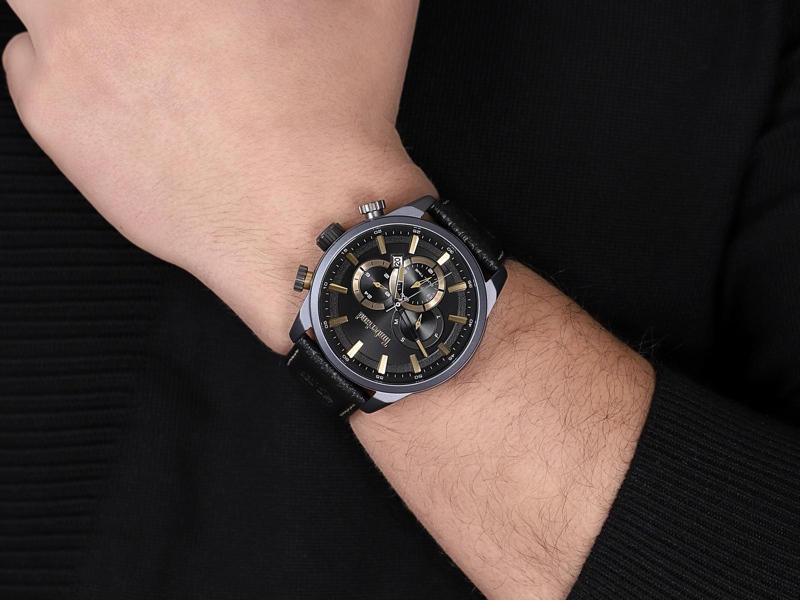 Timberland TBL.16002JLAU-05 męski zegarek Millway pasek