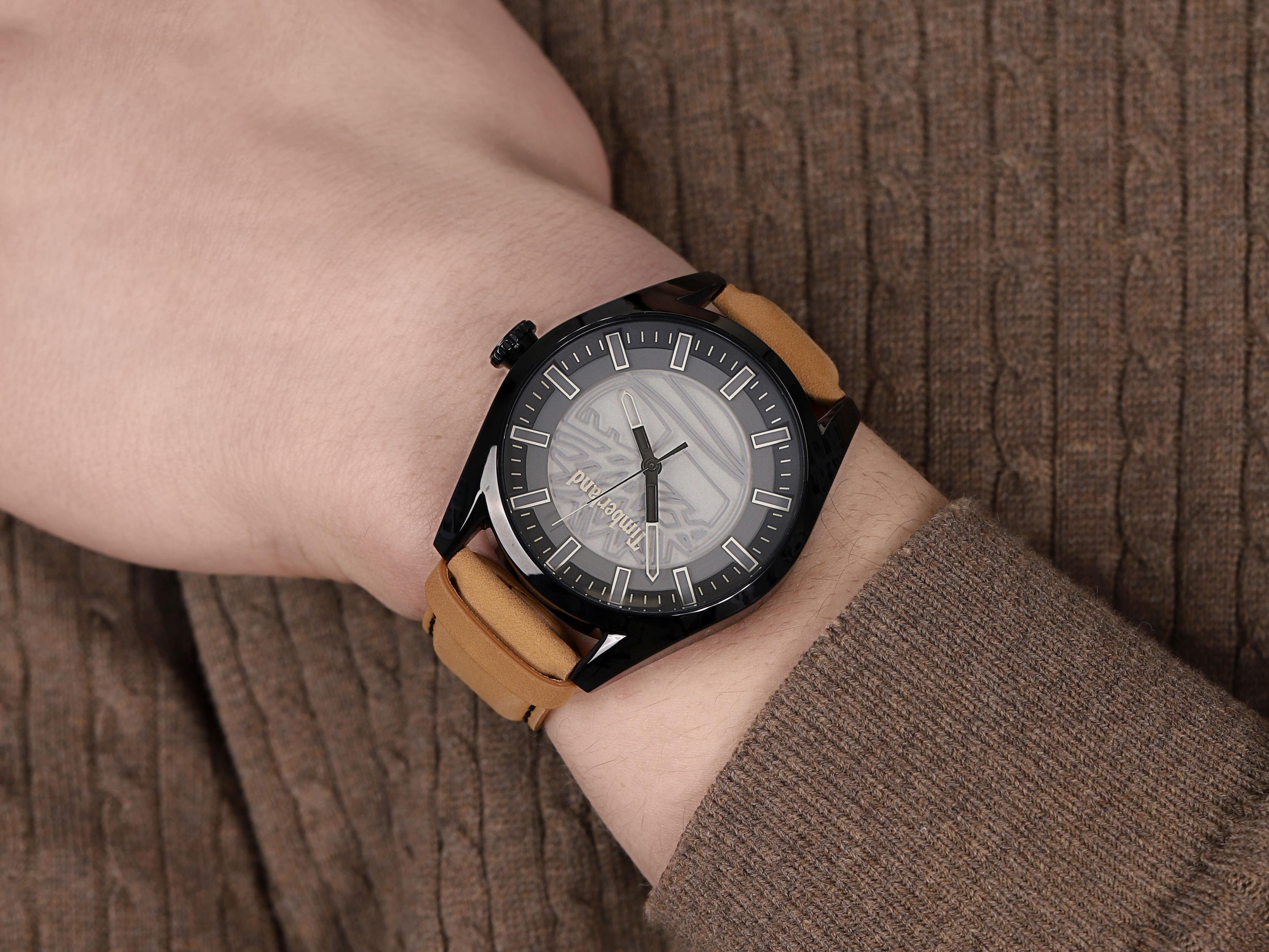 Timberland TBL.16005JYB-13 męski zegarek Ashfield pasek