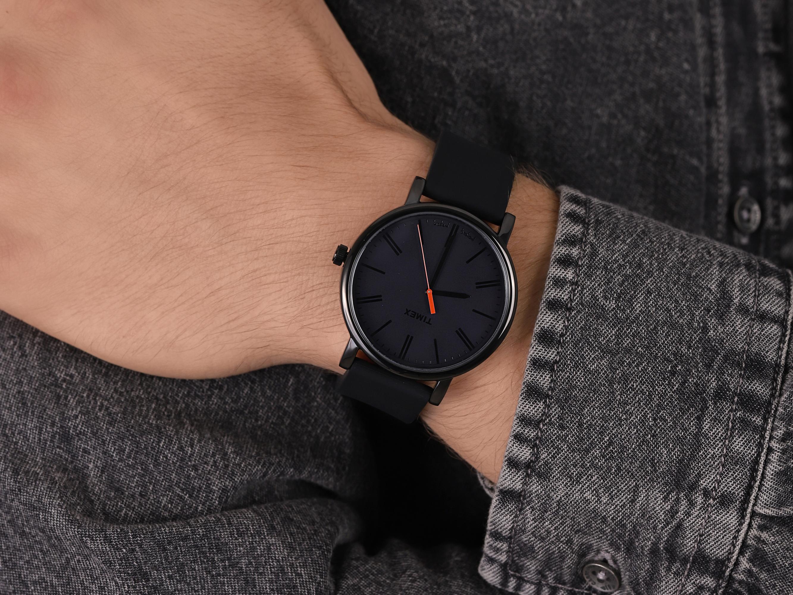 Timex T2N794R męski zegarek Originals pasek