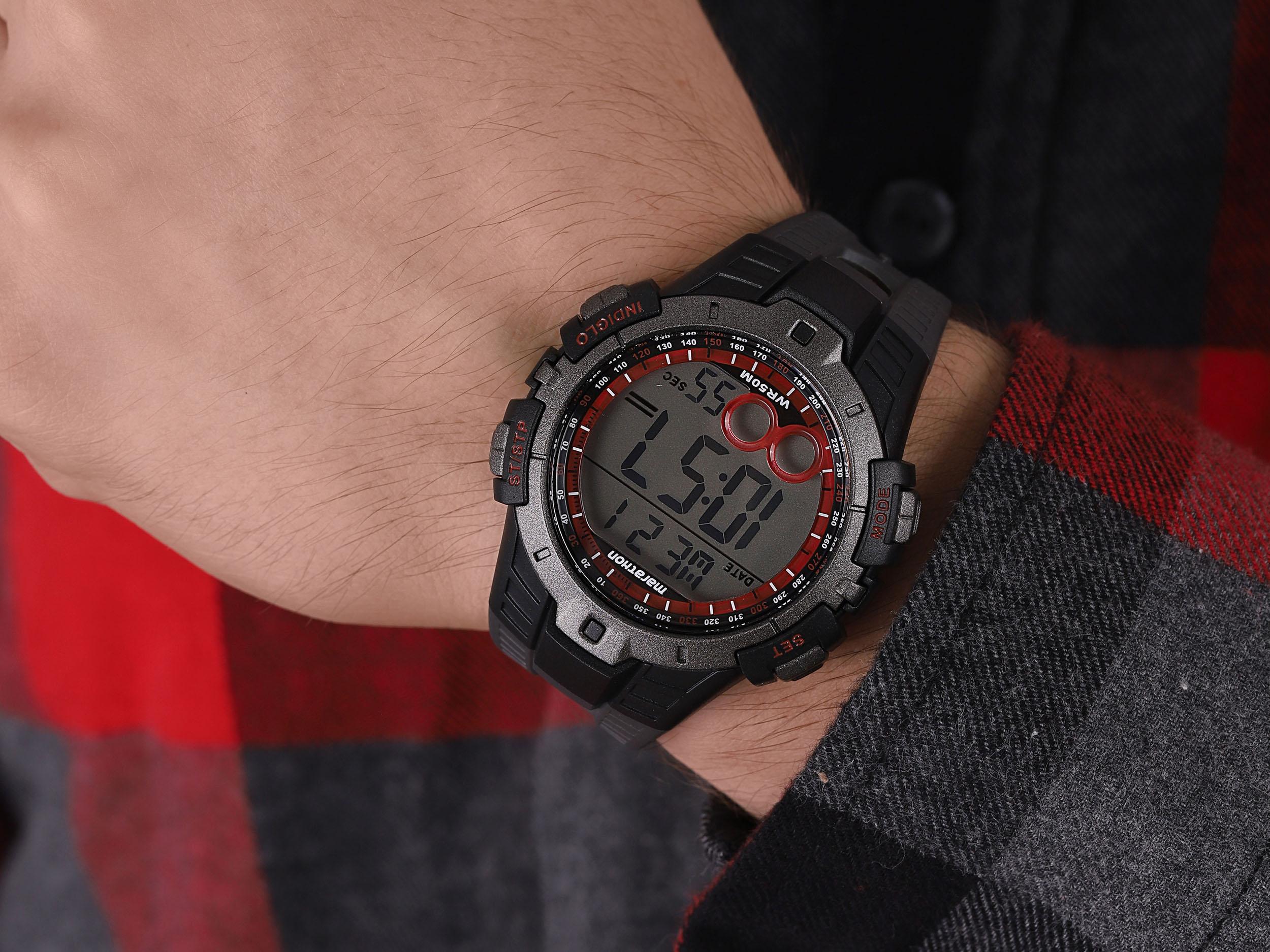 Timex T5K423 męski zegarek Marathon pasek