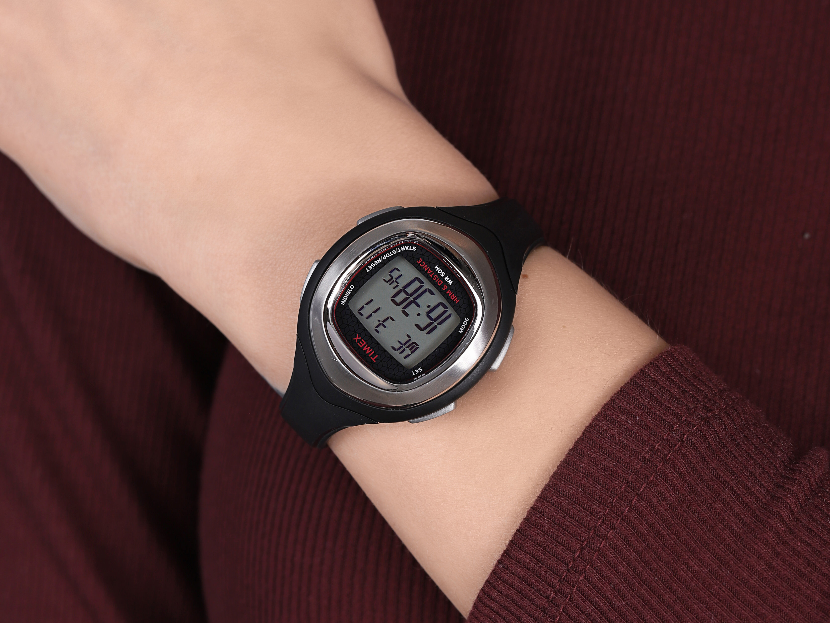 Timex T5K562 damski zegarek Ironman pasek