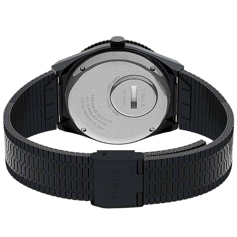 Timex TW2U61600 zegarek srebrny klasyczny Q Timex Reissue bransoleta