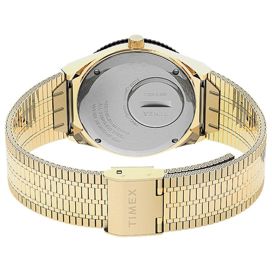 Timex TW2U95800 zegarek różowe złoto klasyczny Q Timex Reissue bransoleta