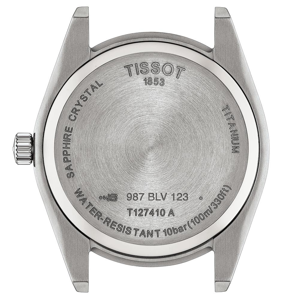 Tissot T127.410.44.041.00 zegarek klasyczny Gentleman