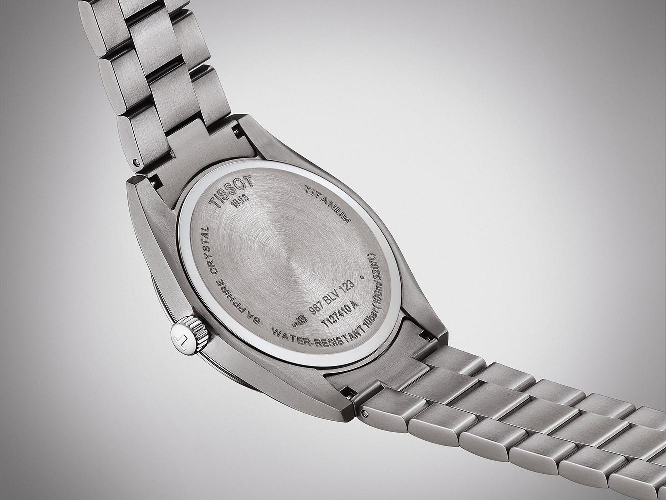 Tissot T127.410.44.081.00 zegarek męski Gentleman