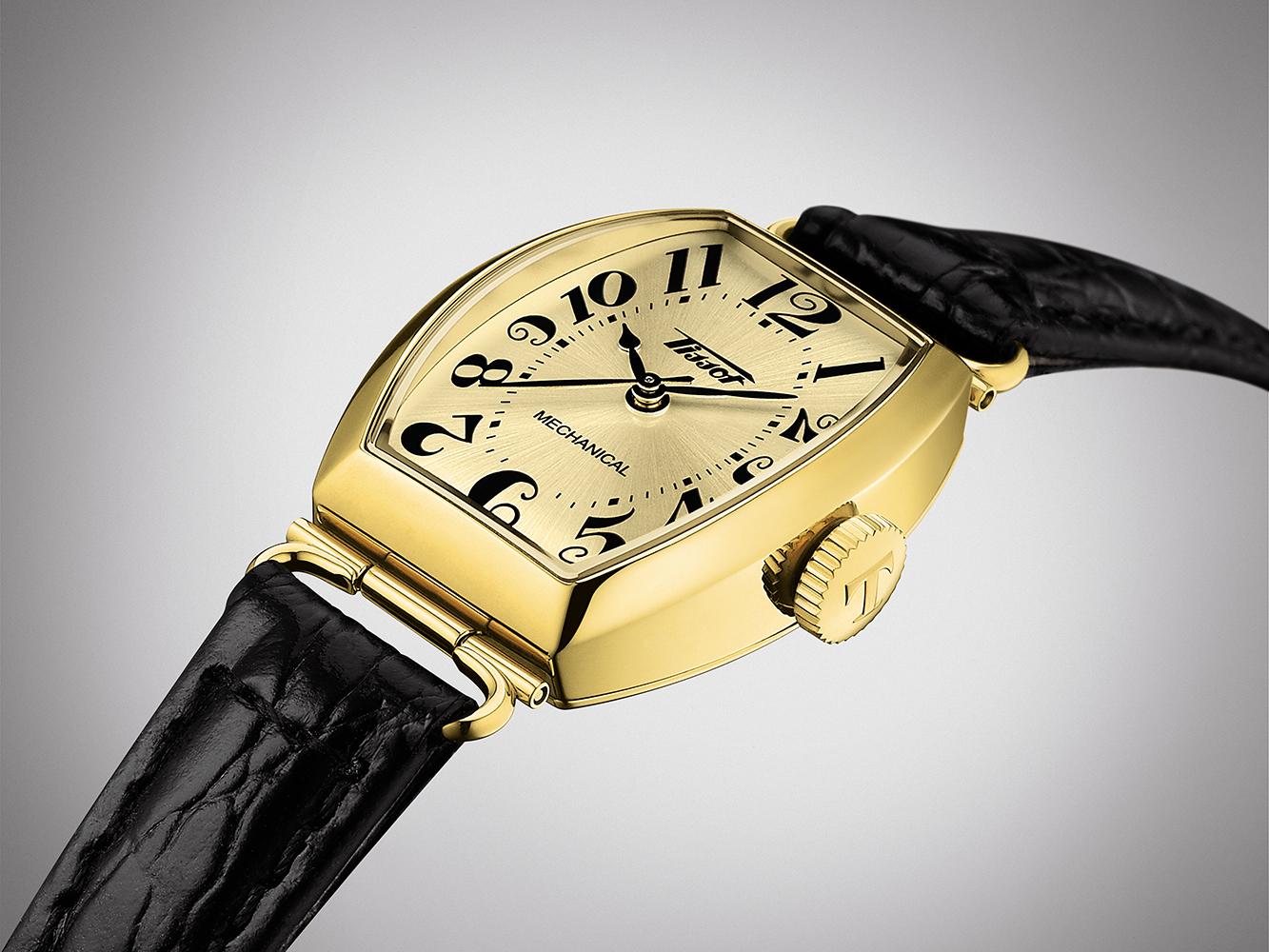 Tissot T128.161.36.262.00 zegarek damski Heritage