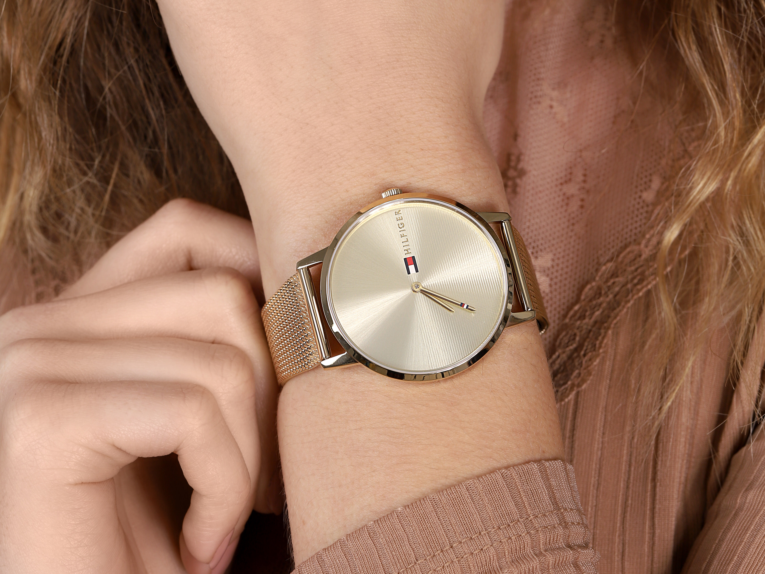 Tommy Hilfiger 1781972 damski zegarek Damskie bransoleta