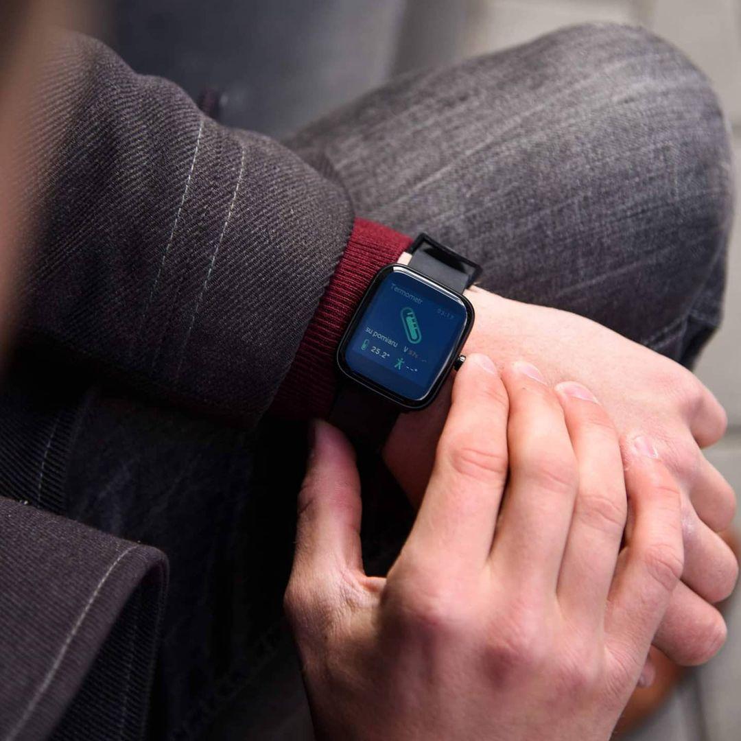 Vector Smart VCTR-31-01BK-S3BK 42mm Czarny zegarek sportowy Smartwatch