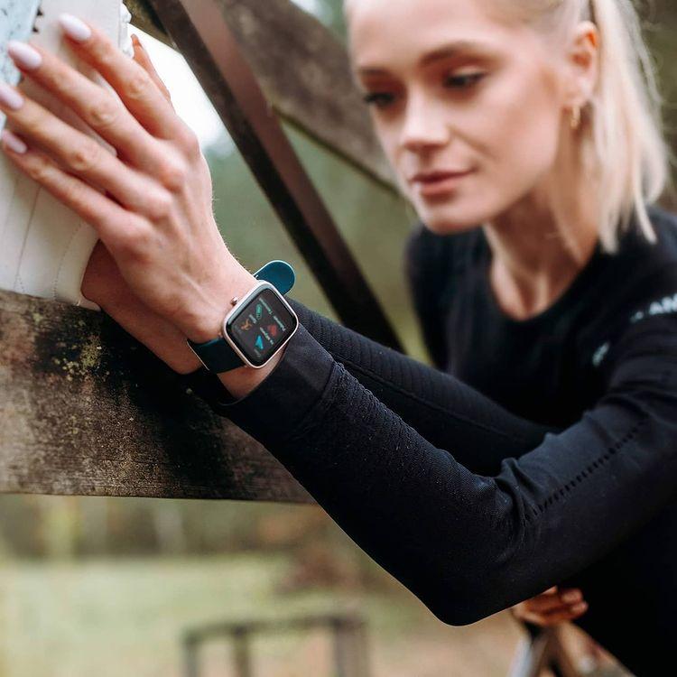 Vector Smart VCTR-31-01RG-S1NB 42mm Niebieski zegarek sportowy Smartwatch