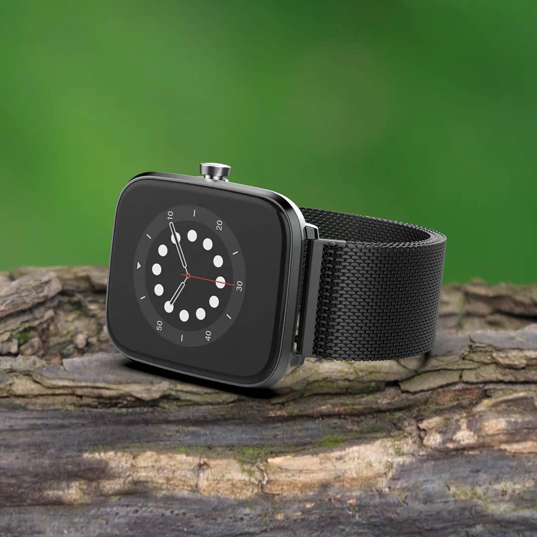 Vector Smart VCTR-33-03BK Smartwatch 42mm Czarny zegarek męski sportowy z tworzywa sztucznego