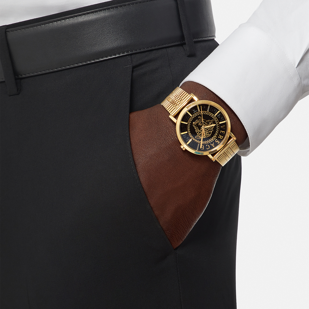 Versace VEJ400521 zegarek elegancki VERSACE ICON