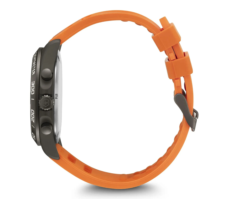 Victorinox 249163.1 zegarek srebrny sportowy Fieldforce pasek
