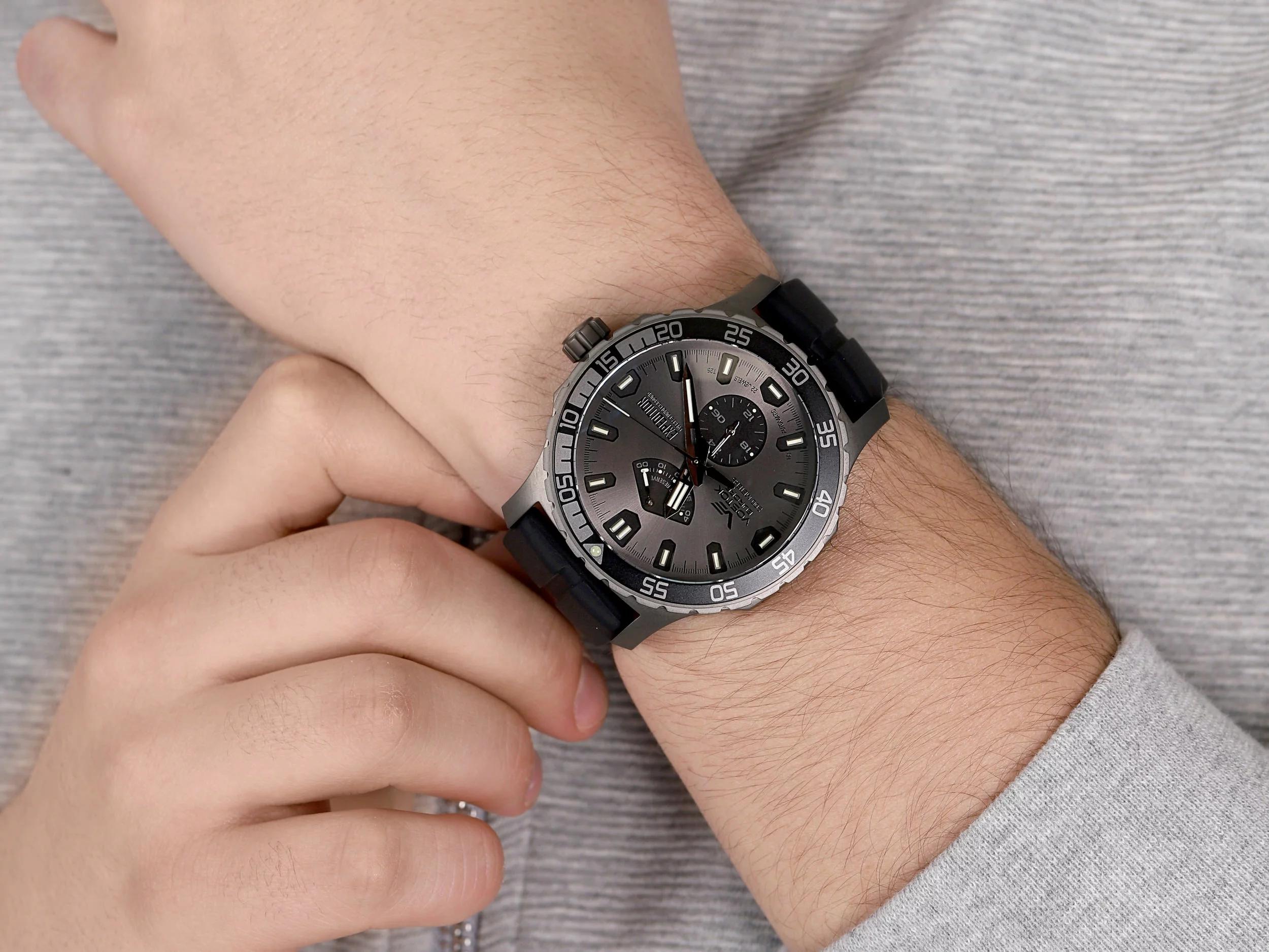 Vostok Europe YN84/597D542 zegarek klasyczny Expedition Everest Underground