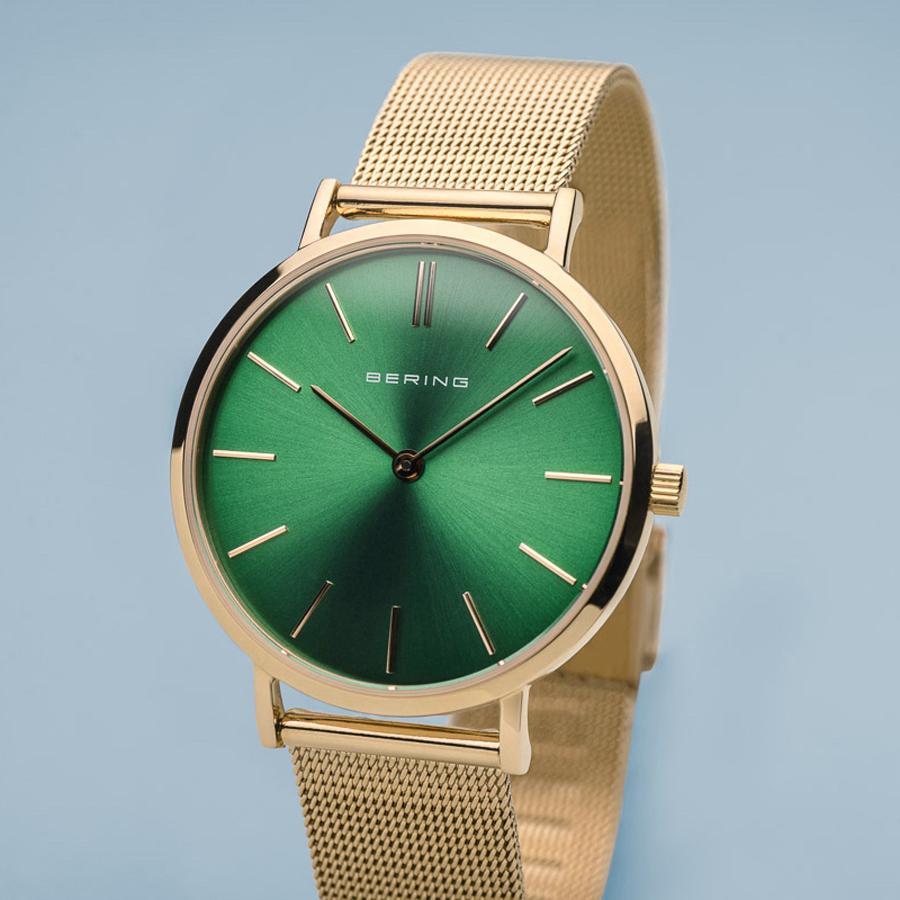 zegarek Bering 14134-338 złoty Classic