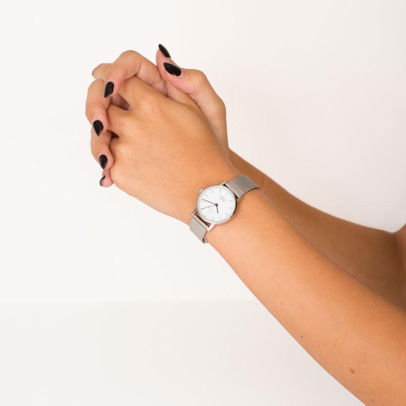 zegarek Triwa ELST101-EM021212 srebrny Elva