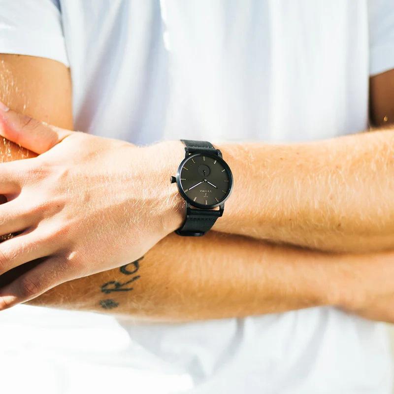 zegarek Triwa FAST115-CL110101 kwarcowy męski Falken MIDNIGHT FALKEN