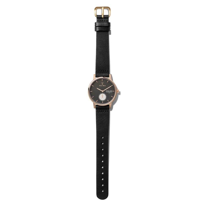Triwa SVST101-SS010114 zegarek różowe złoto klasyczny Svalan pasek