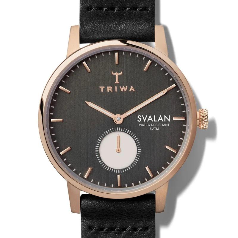 Triwa SVST101-SS010114 NOIR SVALAN zegarek klasyczny Svalan