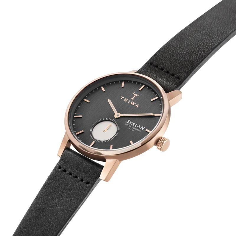 Triwa SVST101-SS010114 damski zegarek Svalan pasek