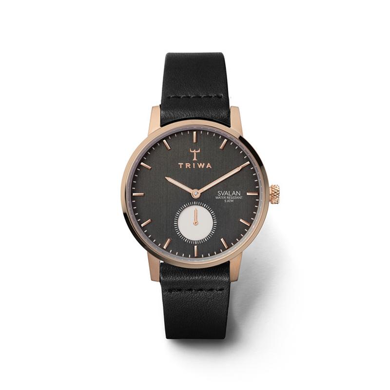 zegarek Triwa SVST101-SS010114 kwarcowy damski Svalan NOIR SVALAN