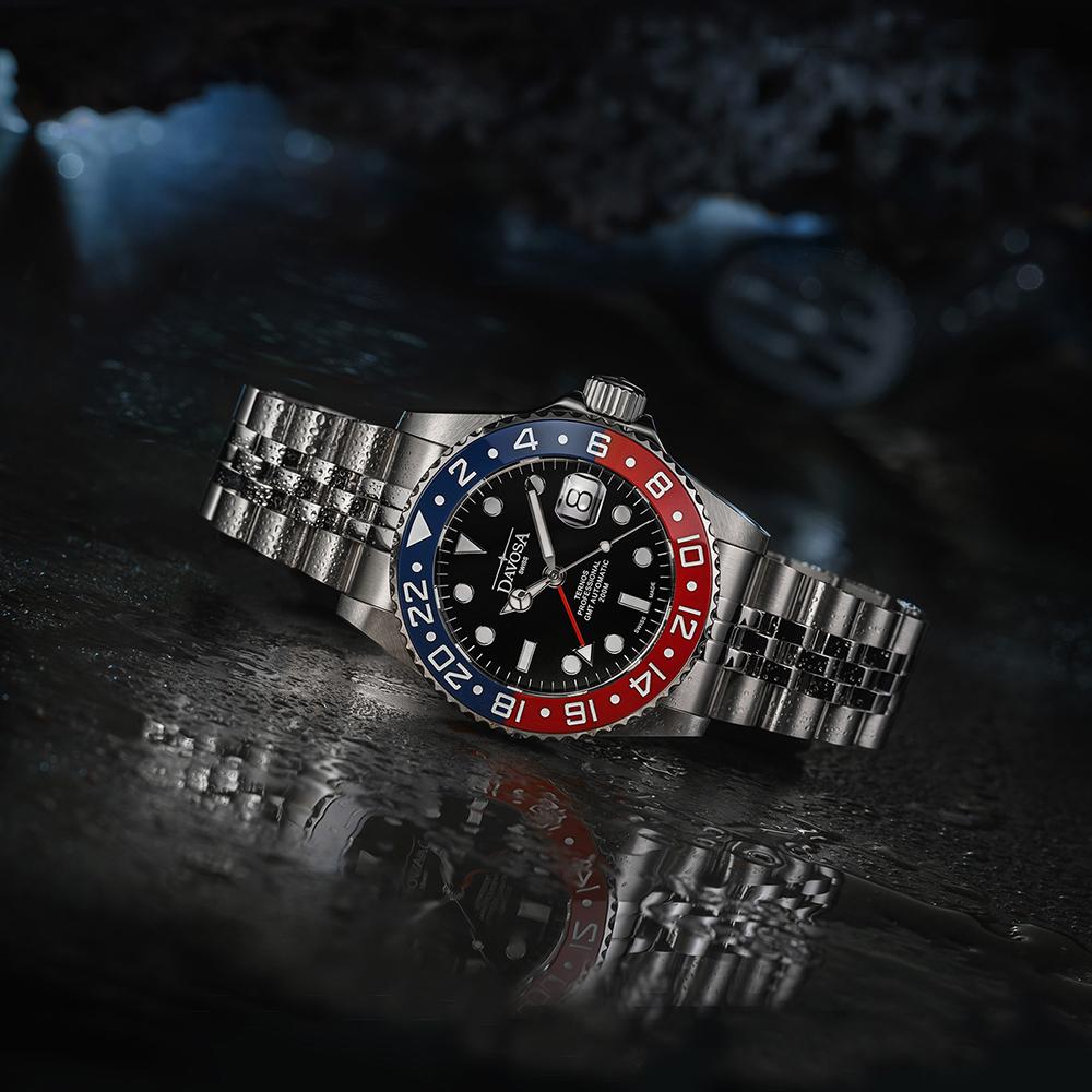 zegarek 161.571.60 srebrny Diving