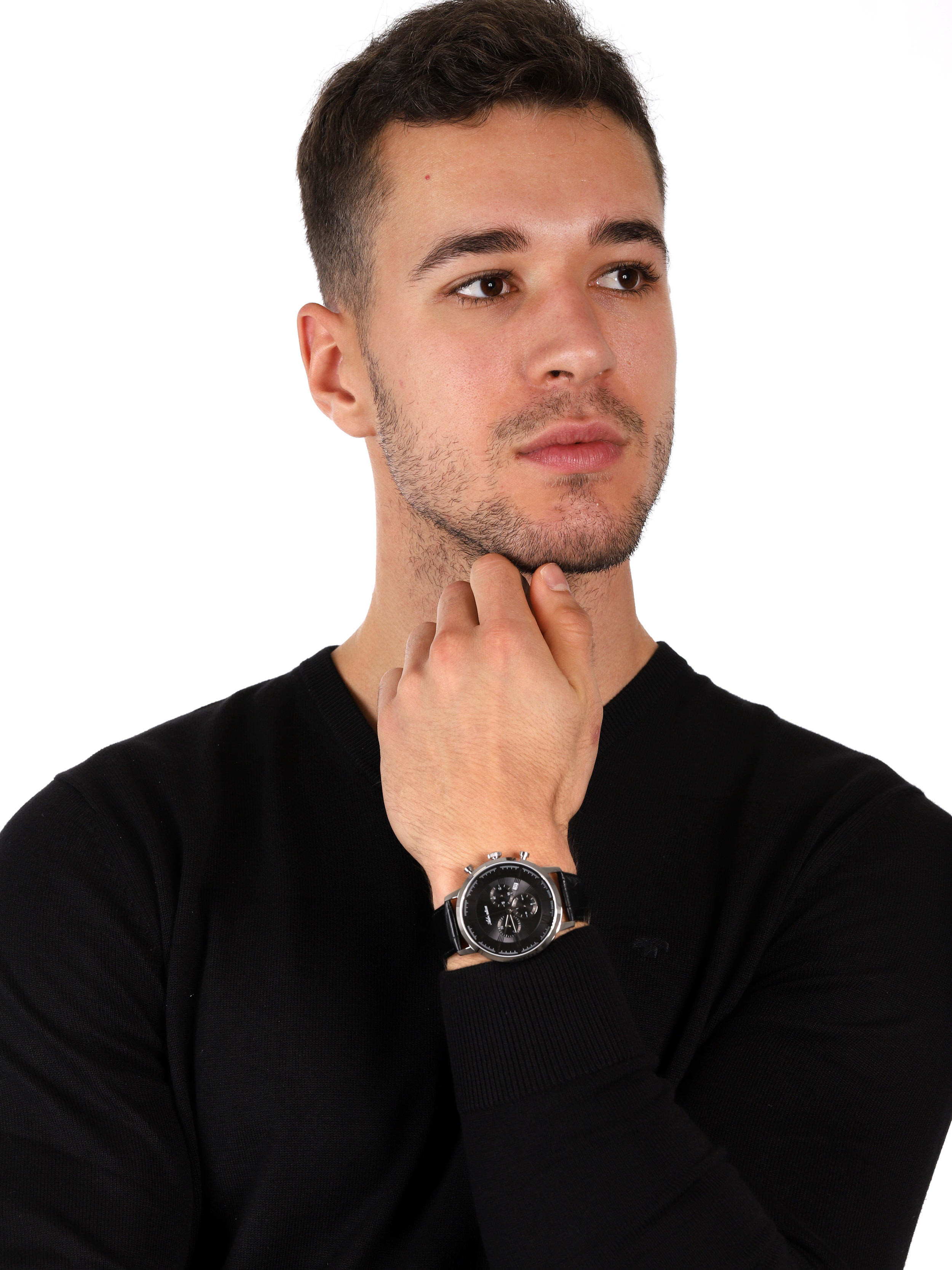 zegarek Adriatica A8298.5264CH Chronograph męski z chronograf Pasek