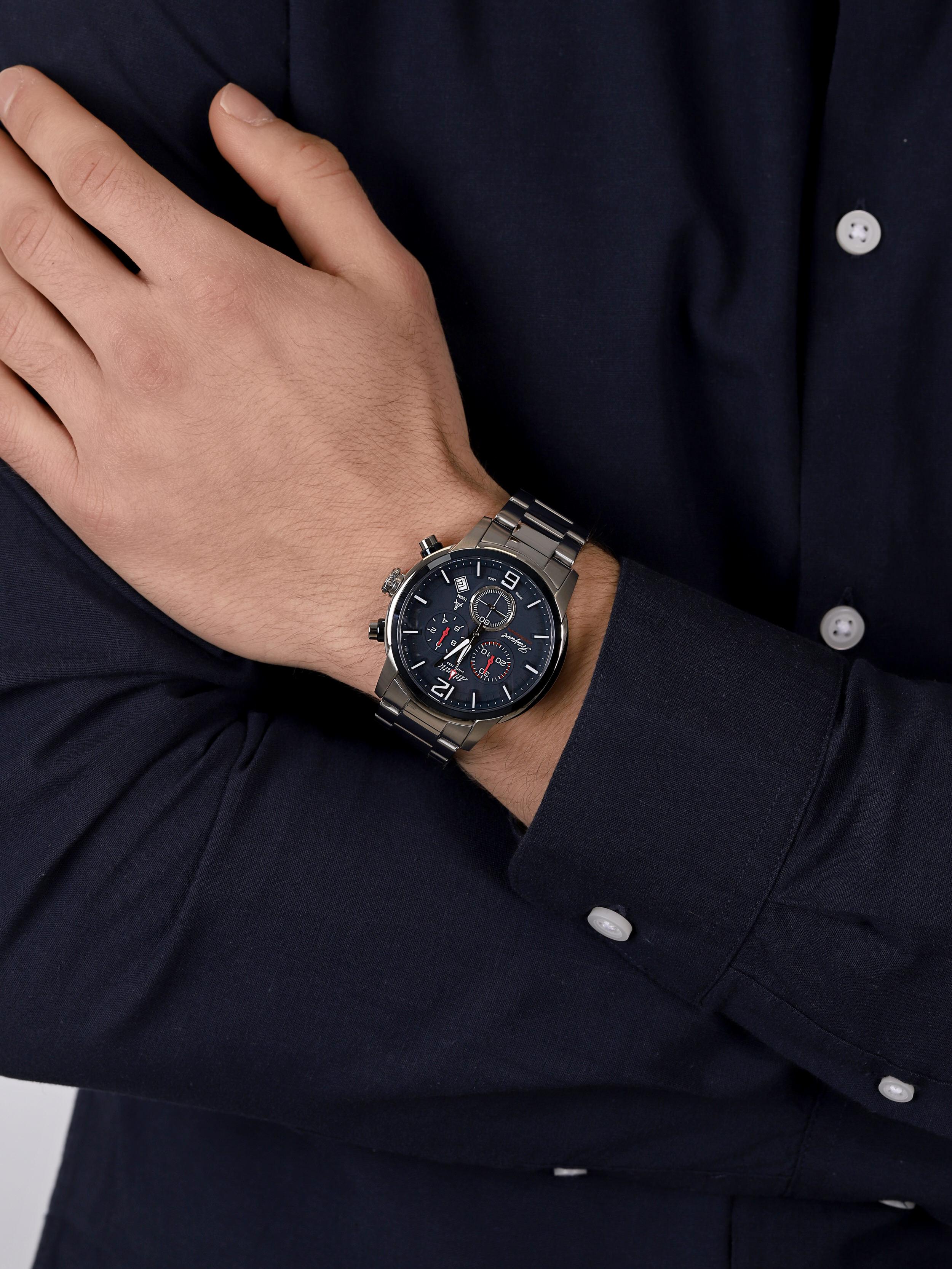 zegarek Atlantic 87466.47.55 męski z chronograf Seasport