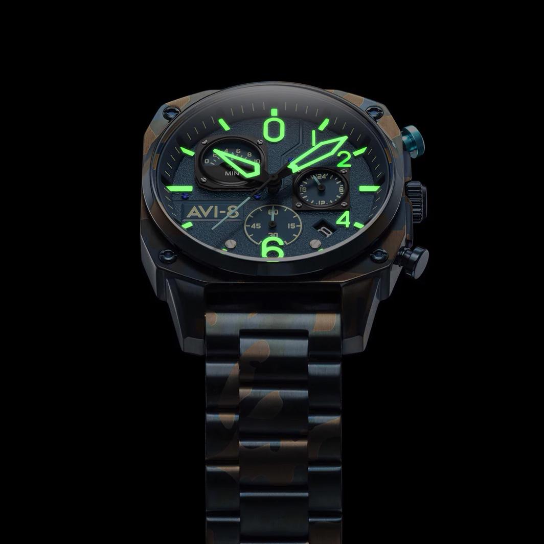 zegarek AV-4052-33 męski z chronograf Hawker Hunter