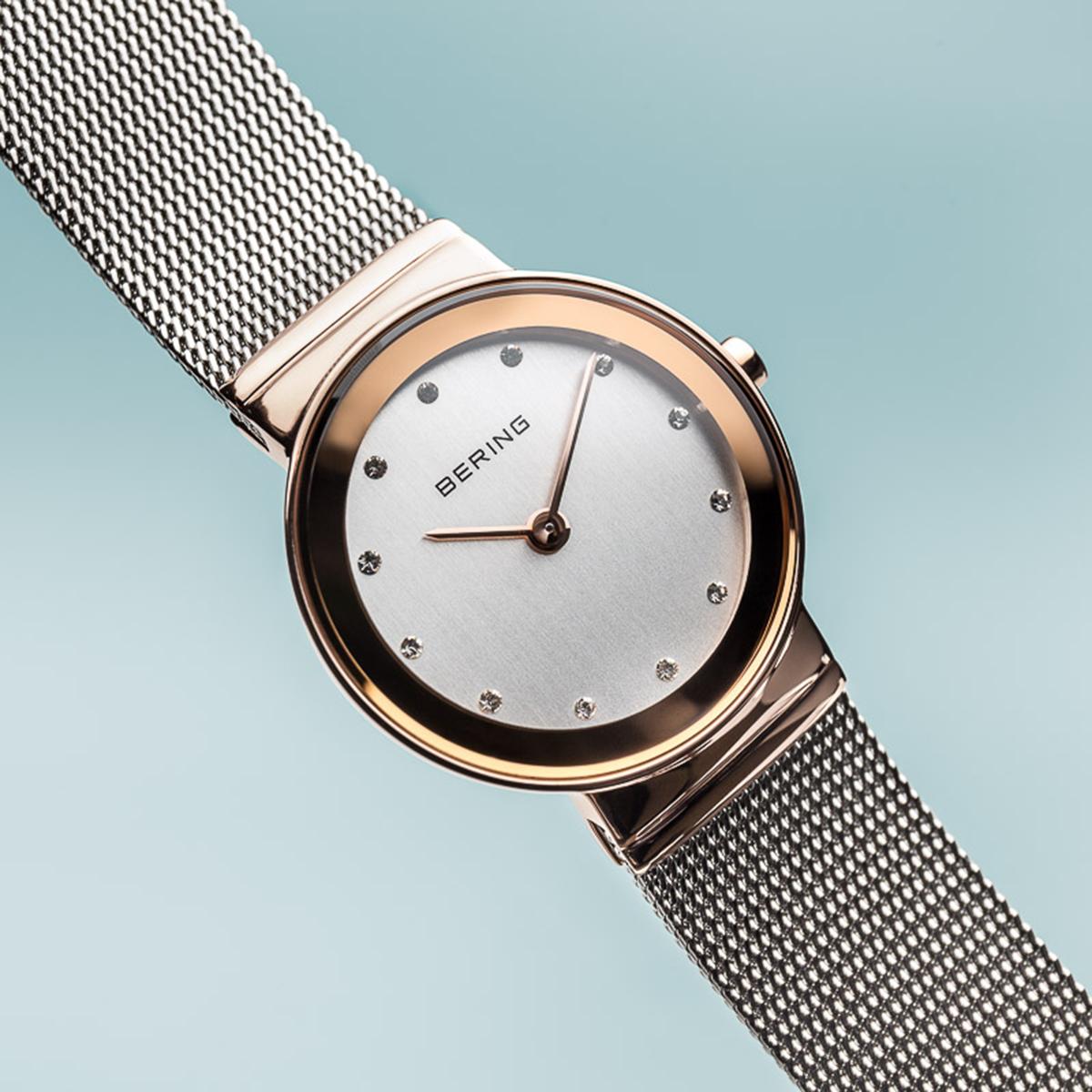 zegarek Bering 10126-066 różowe złoto Classic