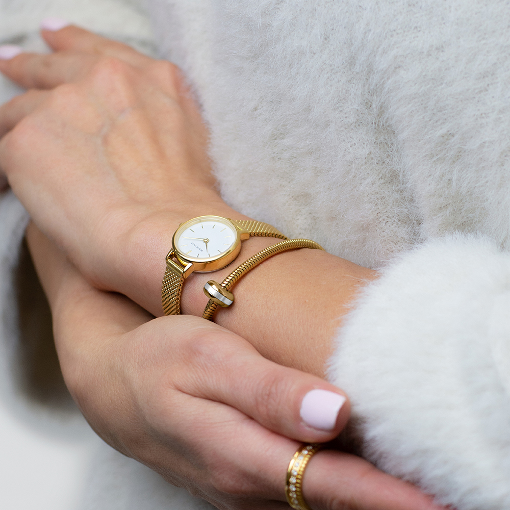 zegarek Bering 11022-334-SET złoty Classic