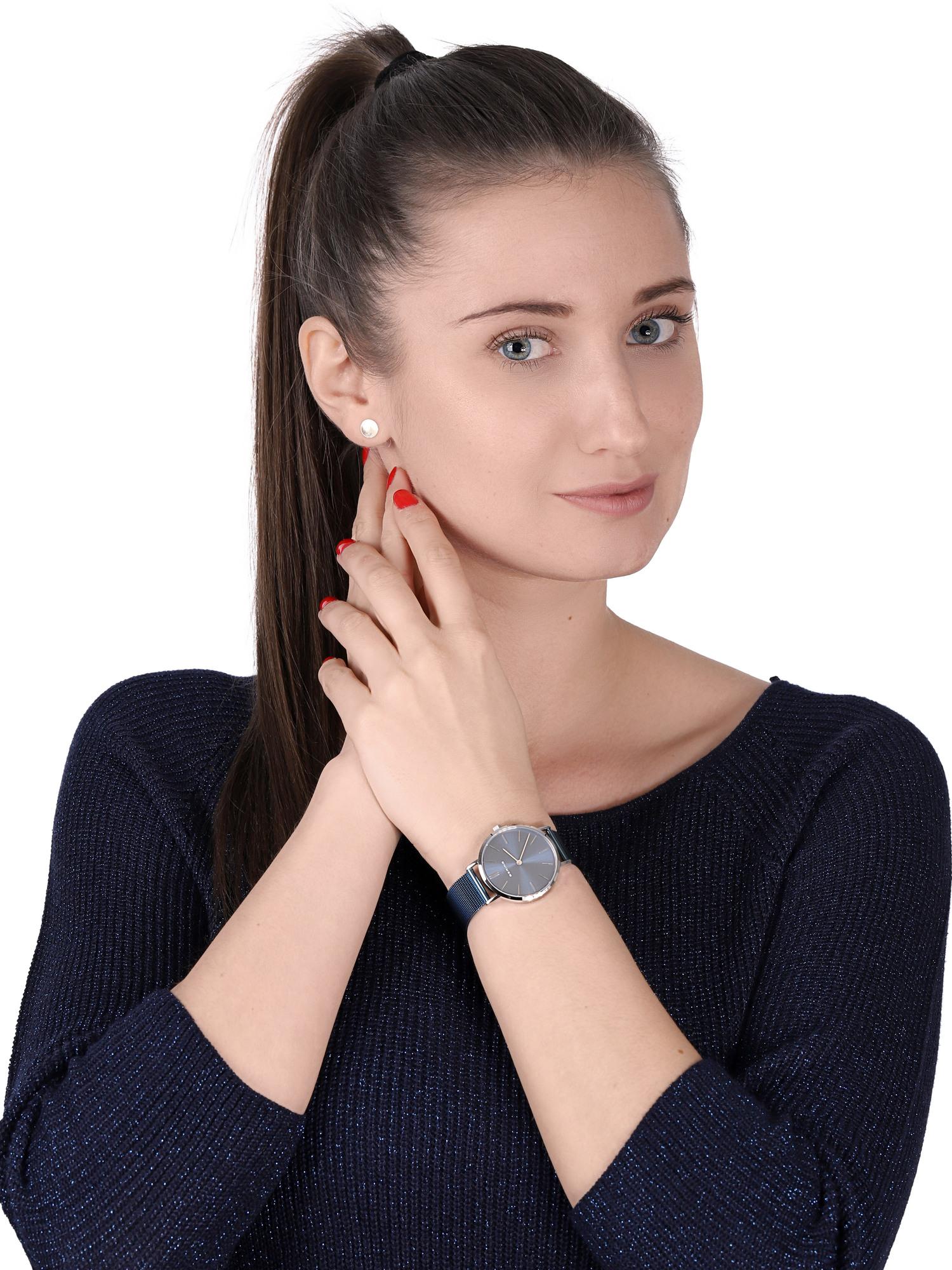 zegarek Bering 14134-308 srebrny Classic