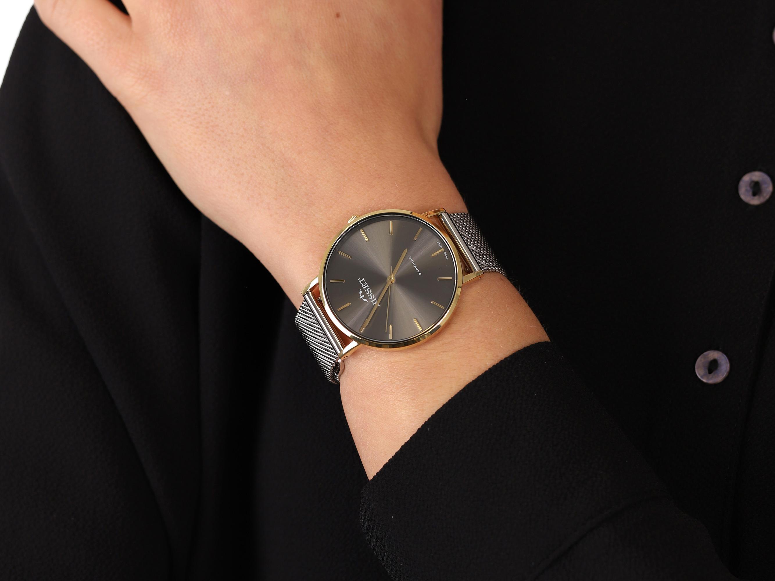 zegarek Bisset BSBF33GIVX03BX kwarcowy damski Klasyczne