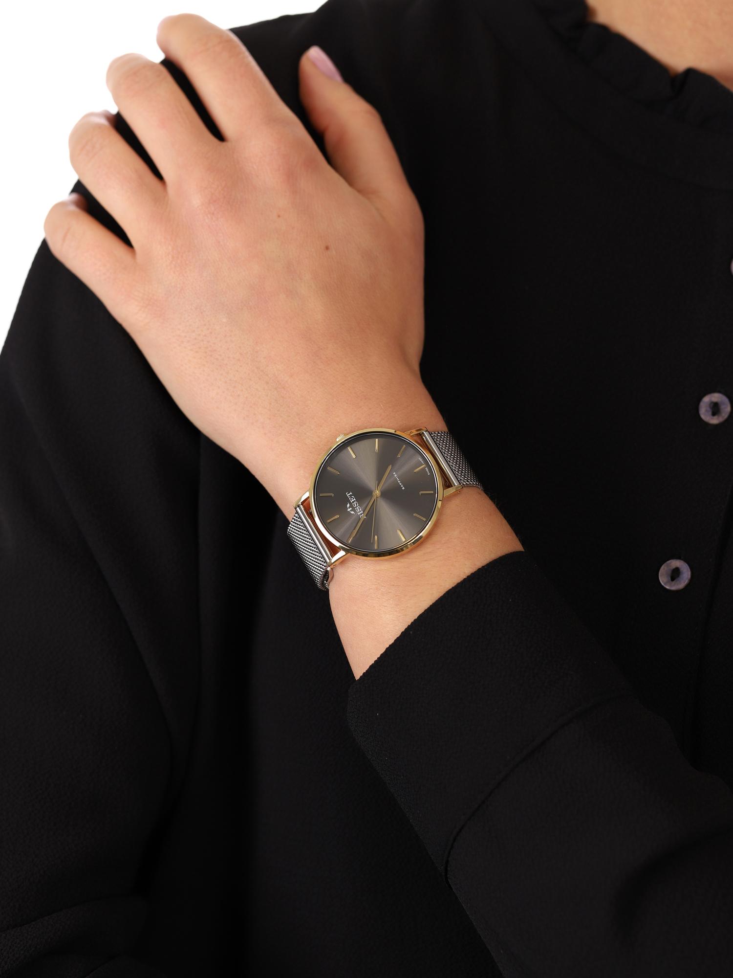 zegarek Bisset BSBF33GIVX03BX złoty Klasyczne