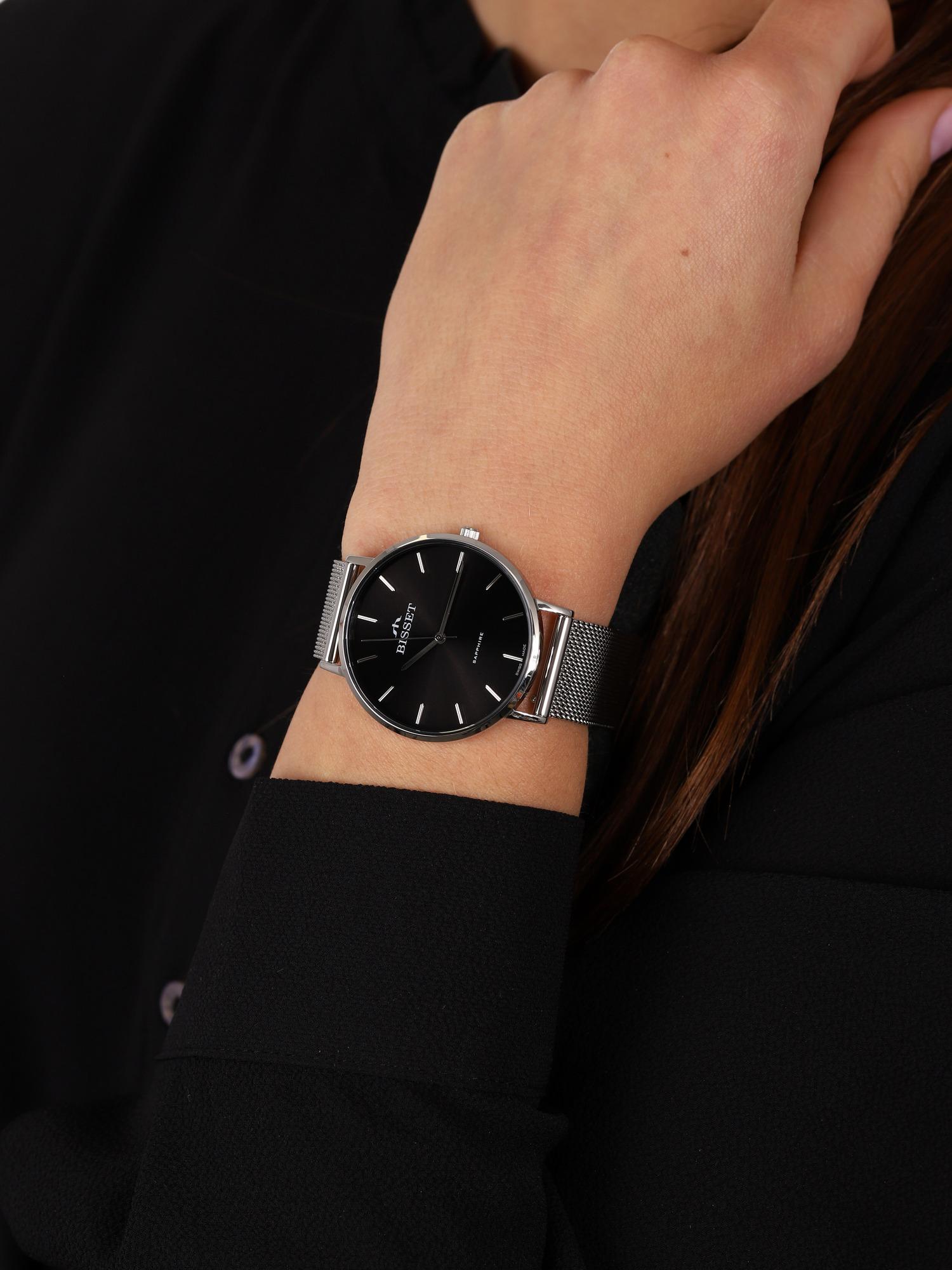 zegarek Bisset BSBF33SIBX03BX kwarcowy damski Klasyczne