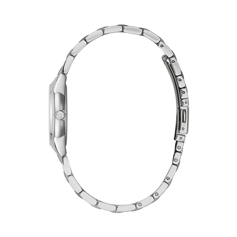 Bulova 96L285 zegarek srebrny klasyczny Classic bransoleta