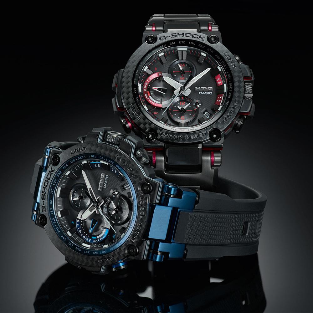 zegarek G-Shock MTG-B1000XB-1AER solar męski G-Shock